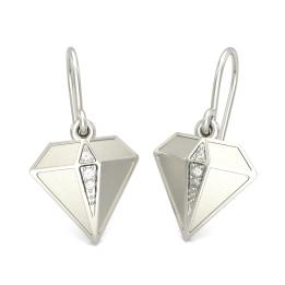 The Diamond Drop Earrings