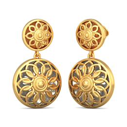 The Saksham Drop Earrings