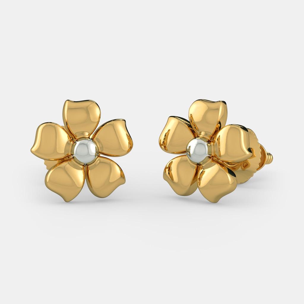 the flower of innocence earrings for bluestone