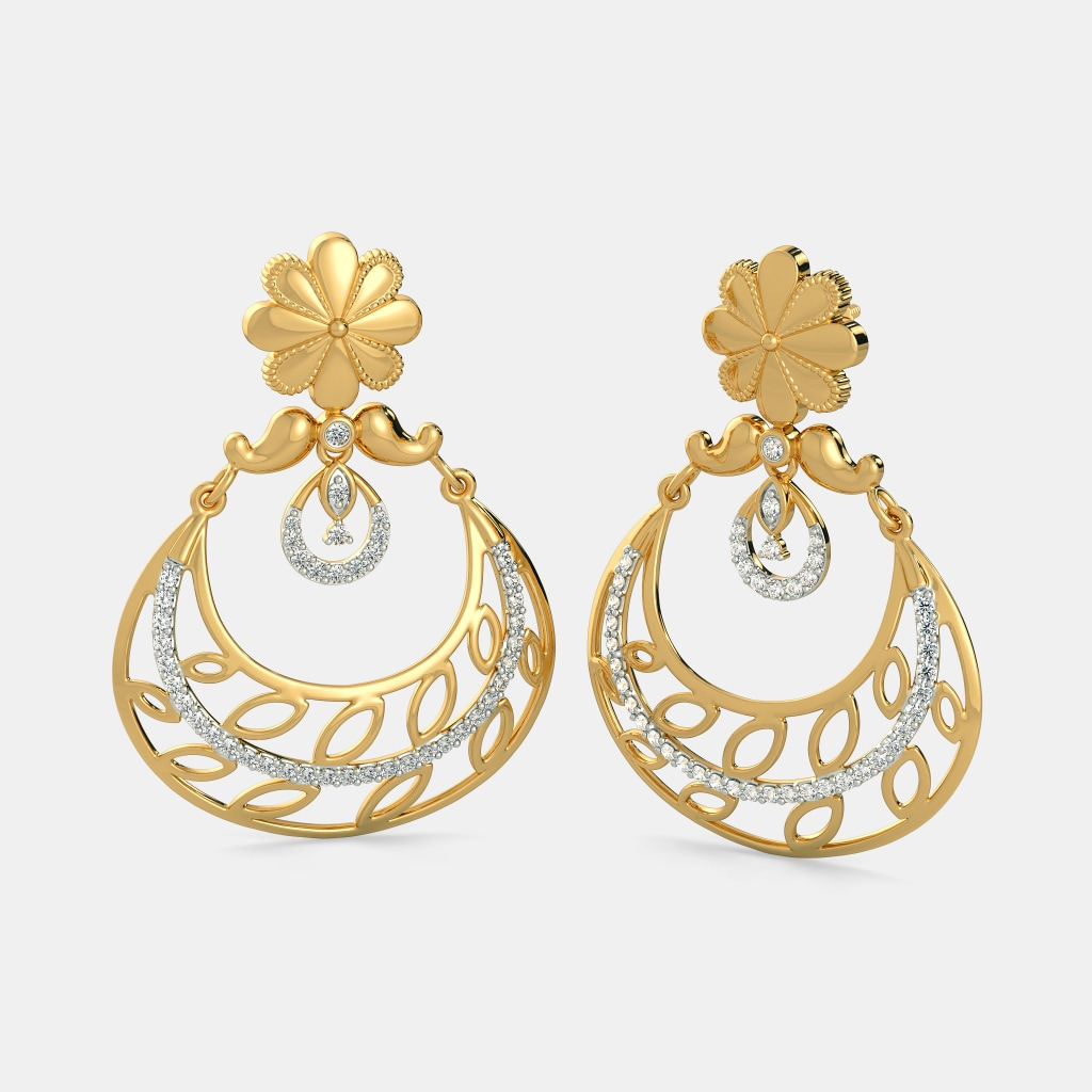 Buy Chand Bali Jewellery Designs Online in India 2018 BlueStone