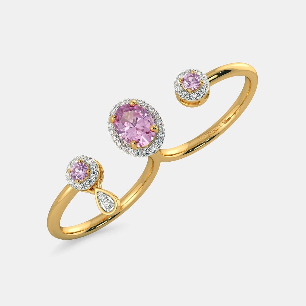 The Inka Two Finger Ring | BlueStone.com