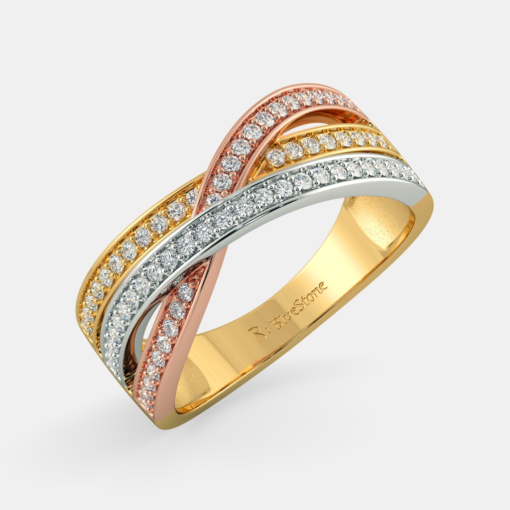 Buy 100+ Diamond Band Ring Designs Online in India 2018 | BlueStone
