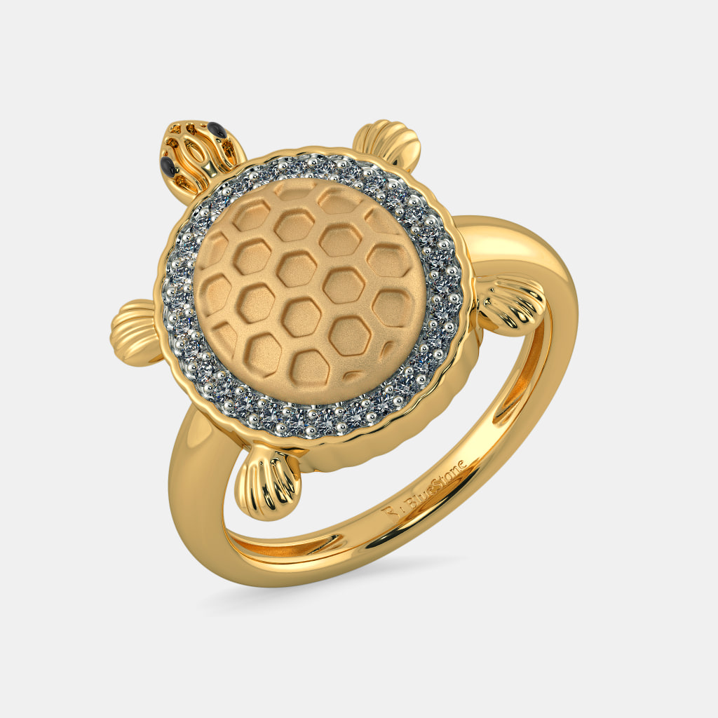 The Tortoise Ring | BlueStone.com
