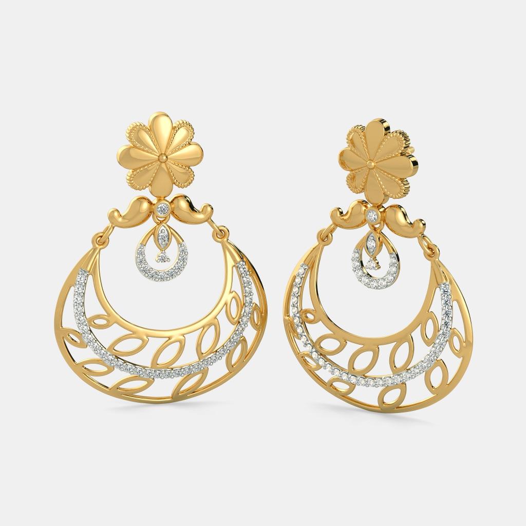 Buy Chand Bali Jewellery Designs Online in India 2018 | BlueStone