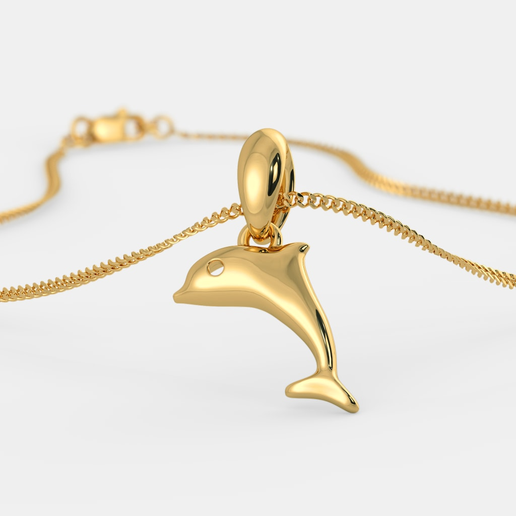 The favourite dolphin pendant for kids bluestone the favourite dolphin pendant for kids aloadofball