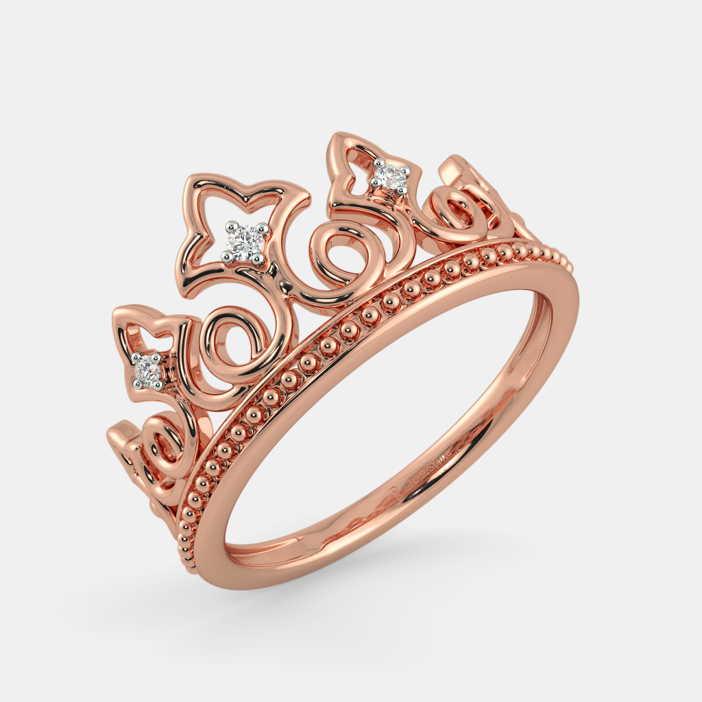 The Amie Crown Ring | BlueStone.com