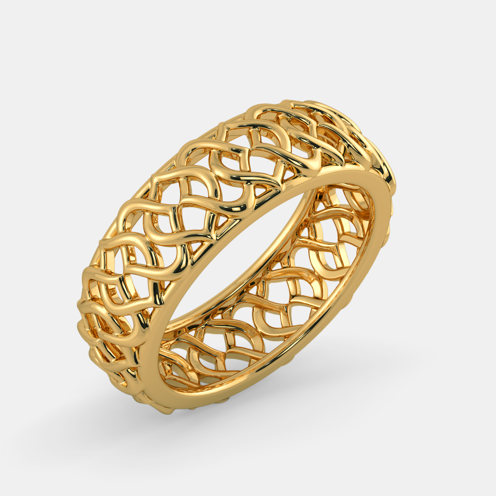 au jewellery asymmetric ring gold customised rough perspective jl products with view diamond jewelove