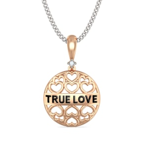 The Tia True Love Pendant