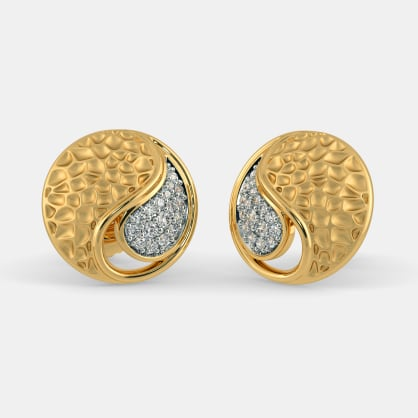 The Jaimini Paisley Stud Earrings