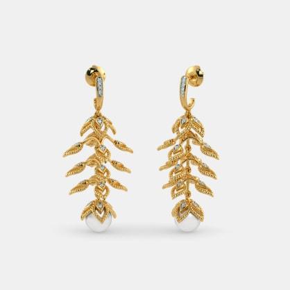 The Mayil Drop Earrings
