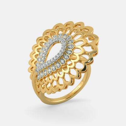 The Kalapi Feather Ring