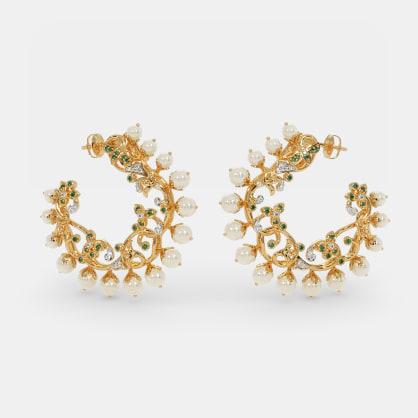 The Sosen Chand Bali Hoop Earrings