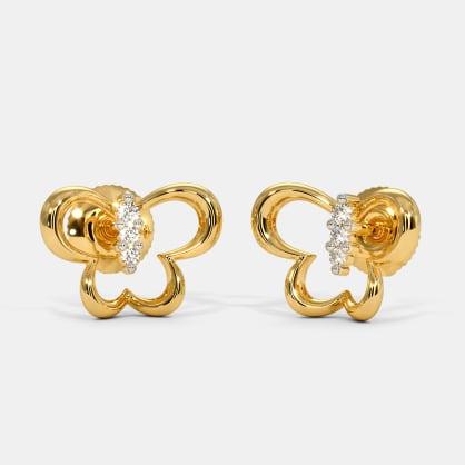 The Arvin Butterfly Stud Earrings