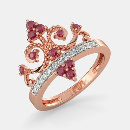 The Aaren Crown Ring