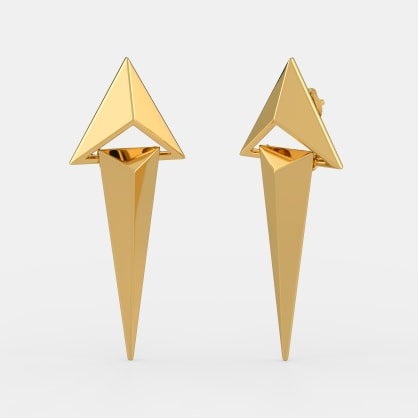 The Glaive Axis Earrings