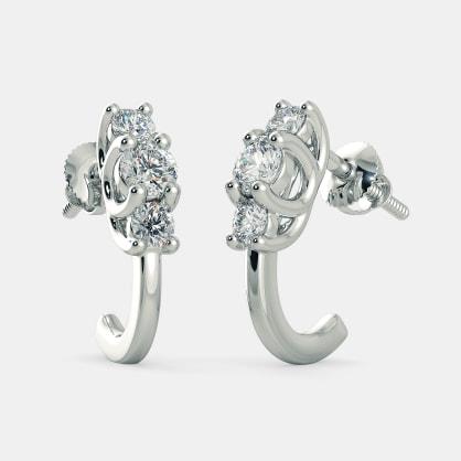 The Sian J Hoop Earrings