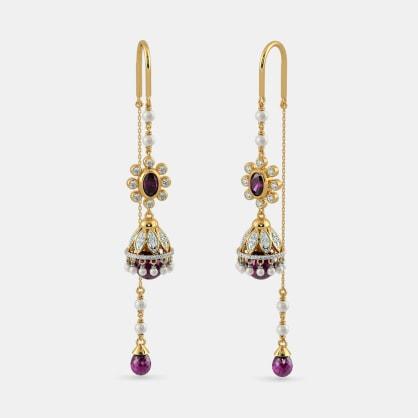 The Carmine Opulence Earrings