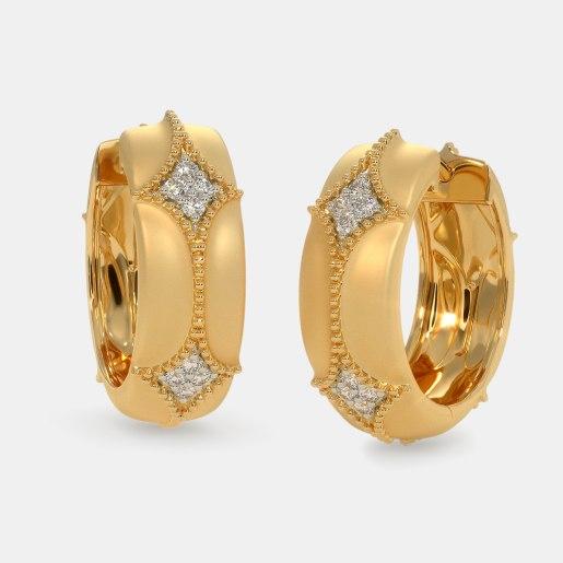 The Rosalyn Hoop Earrings
