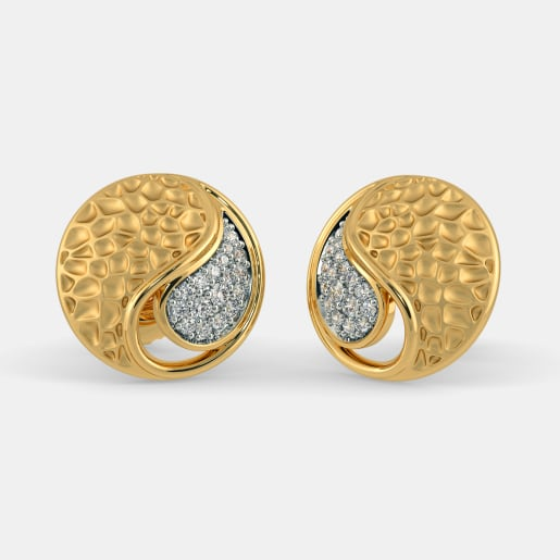 shop solid pair studded waterleliejewellery read hole description tiny ball earring gold etsy or stud savings second studs earrings on new one