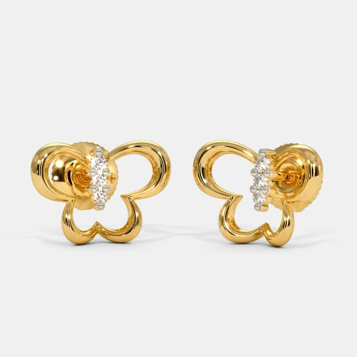 The Arvin Butterfly Stud Earrings