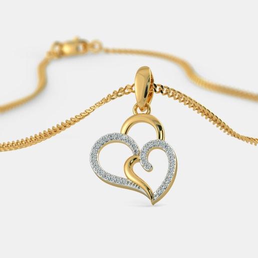 The Heart In Heart Pendant