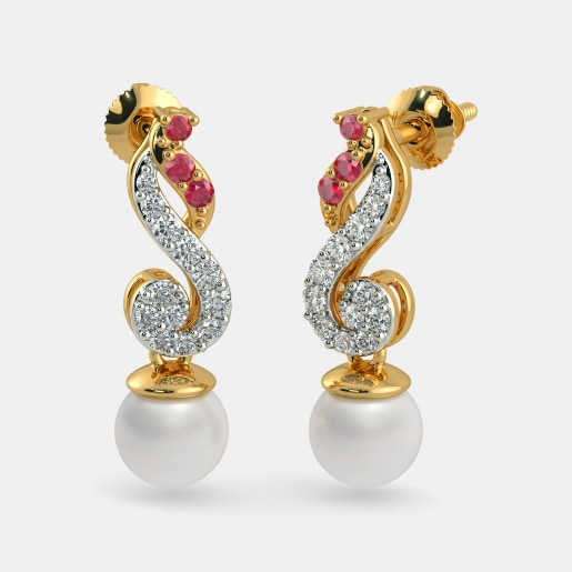 The Enchanting Melody Drop Earrings