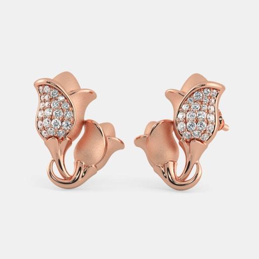 The Temperate Tulip Earrings