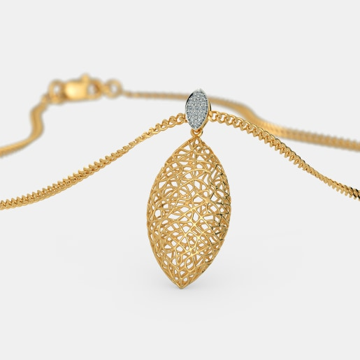 The Ooid Lattice Pendant