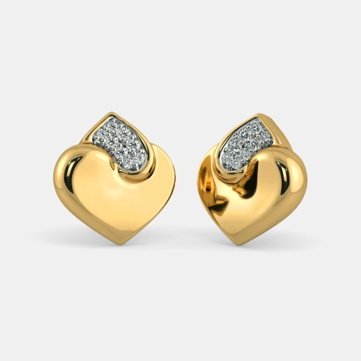 Gold Earrings Buy 1900 Gold Earring Designs line in India