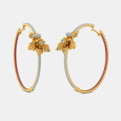 The Gulbahar Hoop Earrings