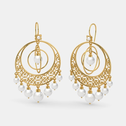 The Crescendo Drop Earrings