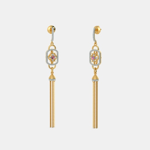 The Casket Tassel Earrings