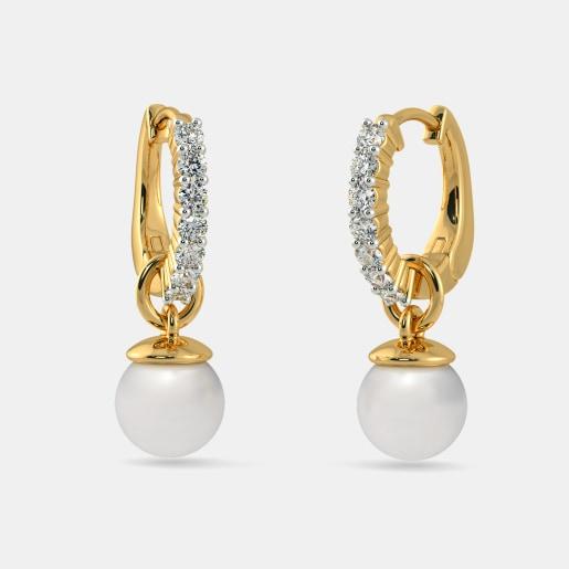 The Nixie Huggie Earrings