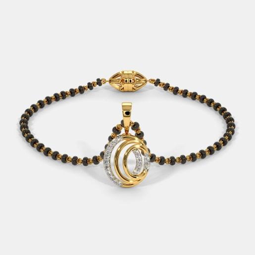 The Nashwa Mangalsutra Bracelet