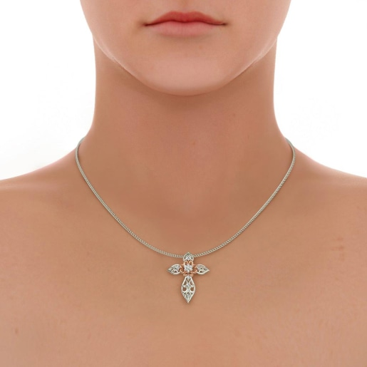 The Kelly Cross Pendant