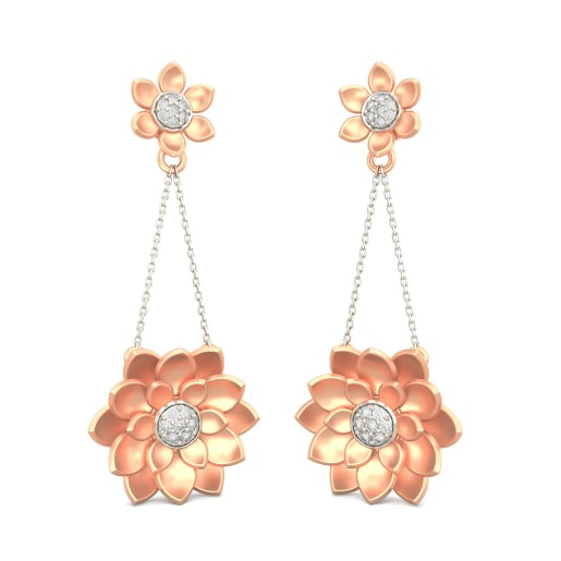 The Exotic Lotus Earrings