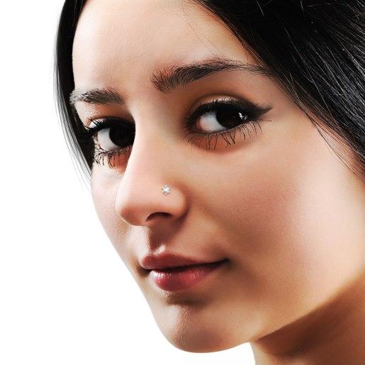 The Hyacinth Nose Pin