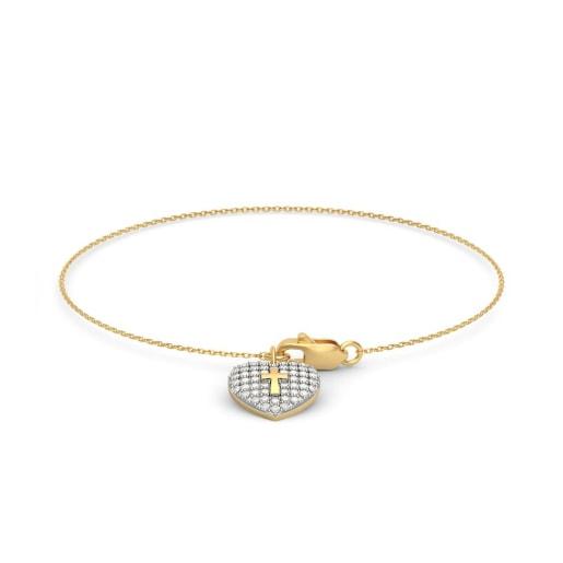 The Damaris Cross Bracelet