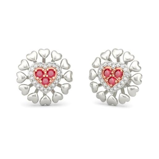 The Miara Heart Earrings