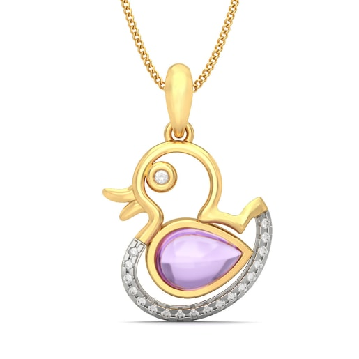 The Darling Duckling Pendant For Kids