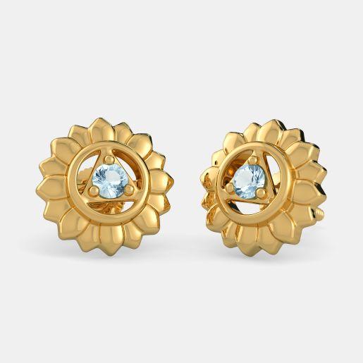 The Throat Chakra Earrings