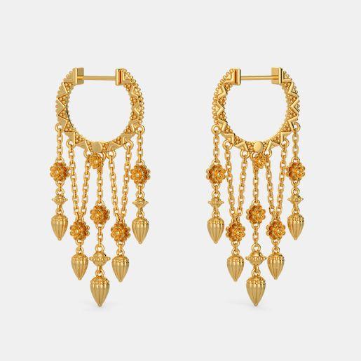 The Lei Hoop Earrings