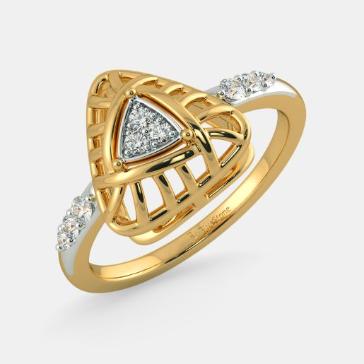 The Woven in Love Ring