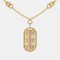 The Ornate Oblong Necklace