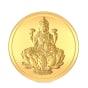 5 gram 24 KT Lakshmi Gold CoinFront
