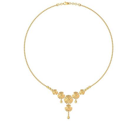 Plain Gold Necklaces